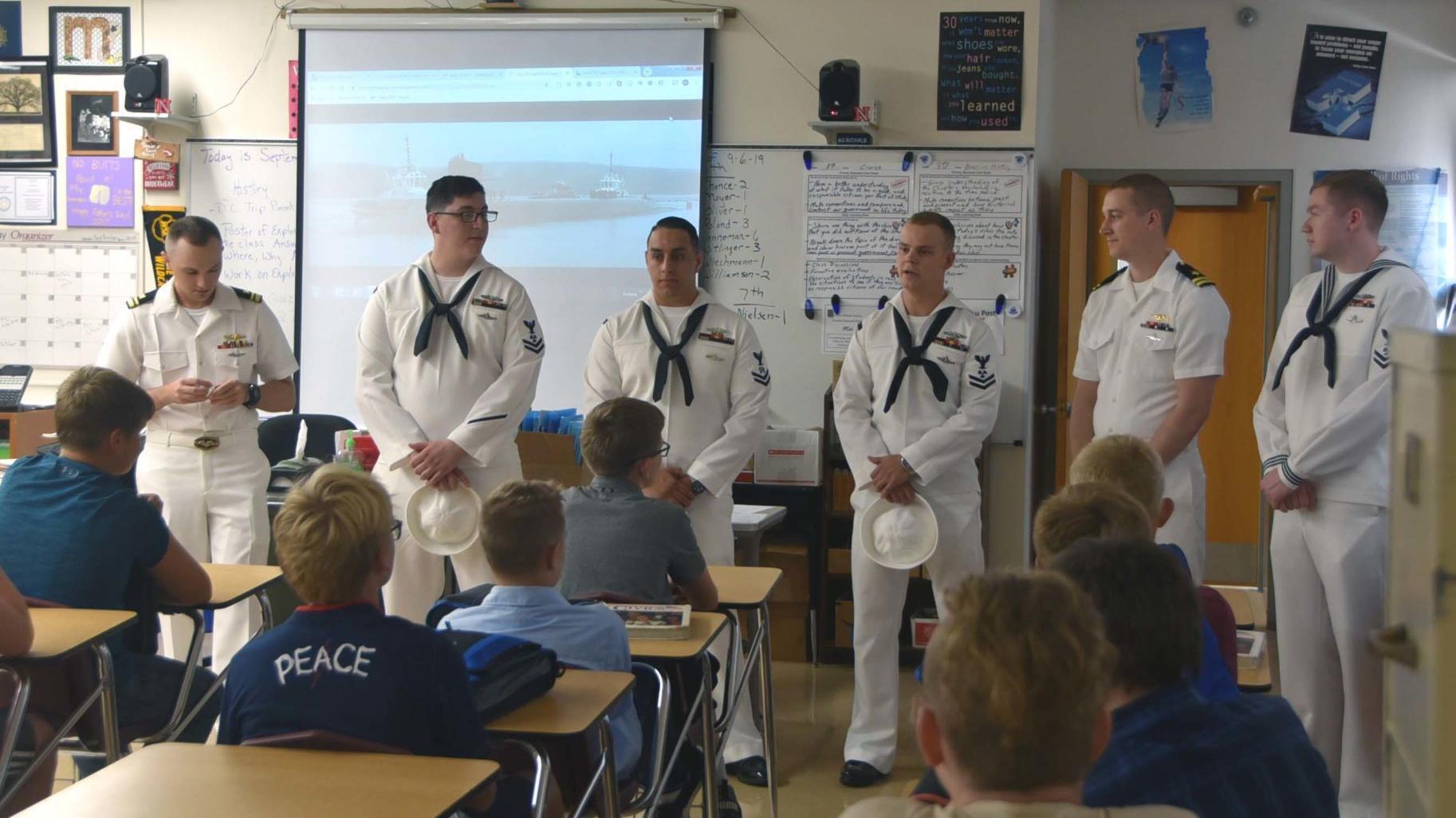 USS Nebraska sailors take first trip to Nebraska