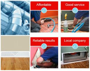 Affordable Air Duct Cleaning_collage