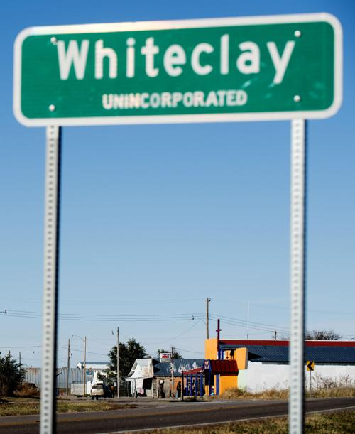 Southern approach to Whiteclay, Neb.