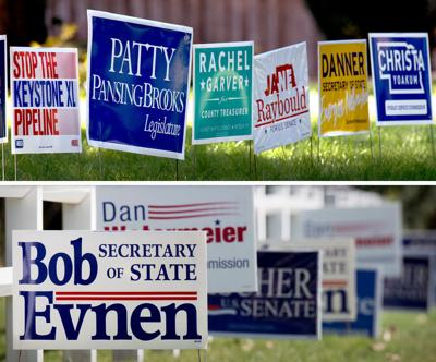 Campaign signs 2018