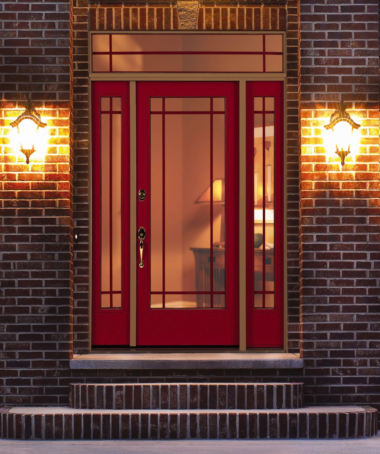 Insulated Fiberglass Doors Can Be Stained Like Natural Wood Or Painted.