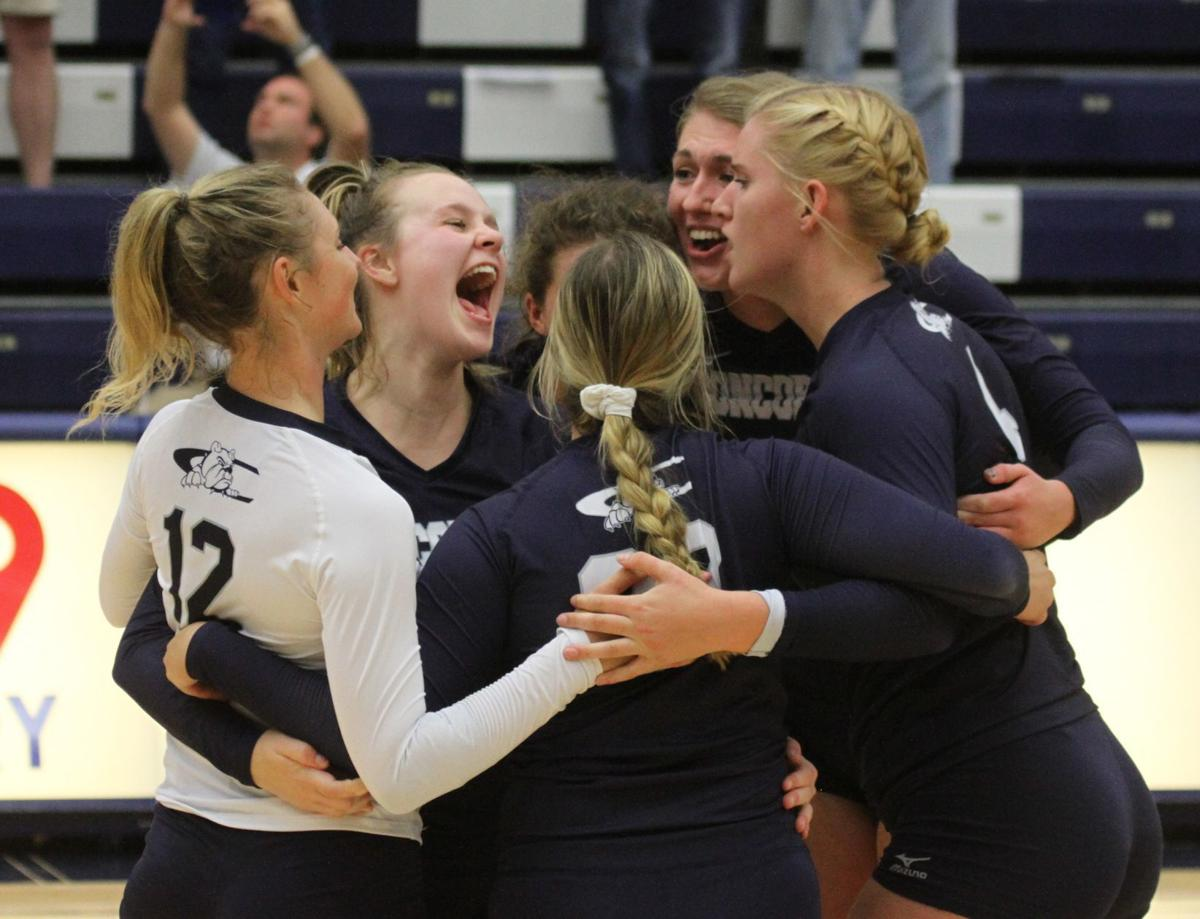Concordia volleyball