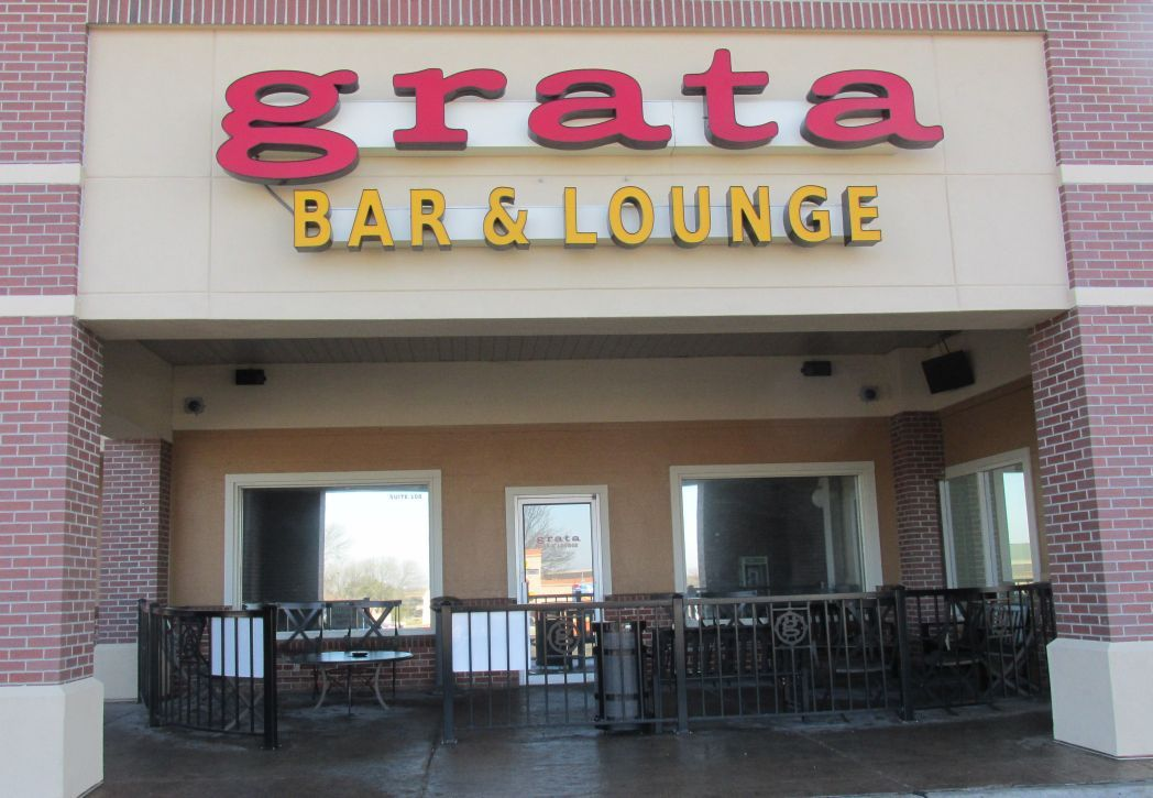 Grata's entrance at 6891 A St., Suite 108