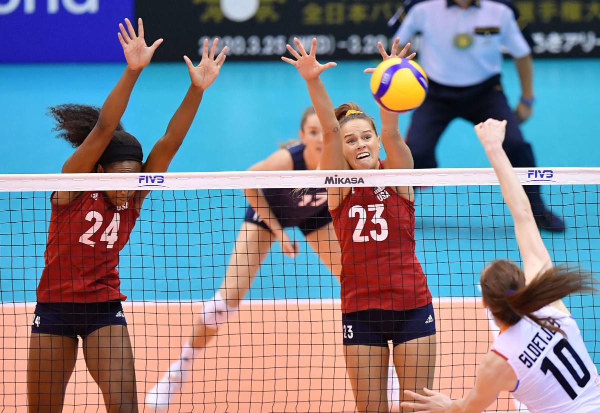 Kelsey Robinson FIVB World Cup