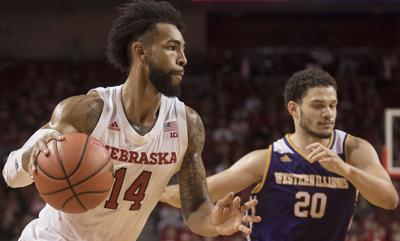outlet store d1d07 0f296 With bigger tests looming, Huskers roll past Leathernecks ...