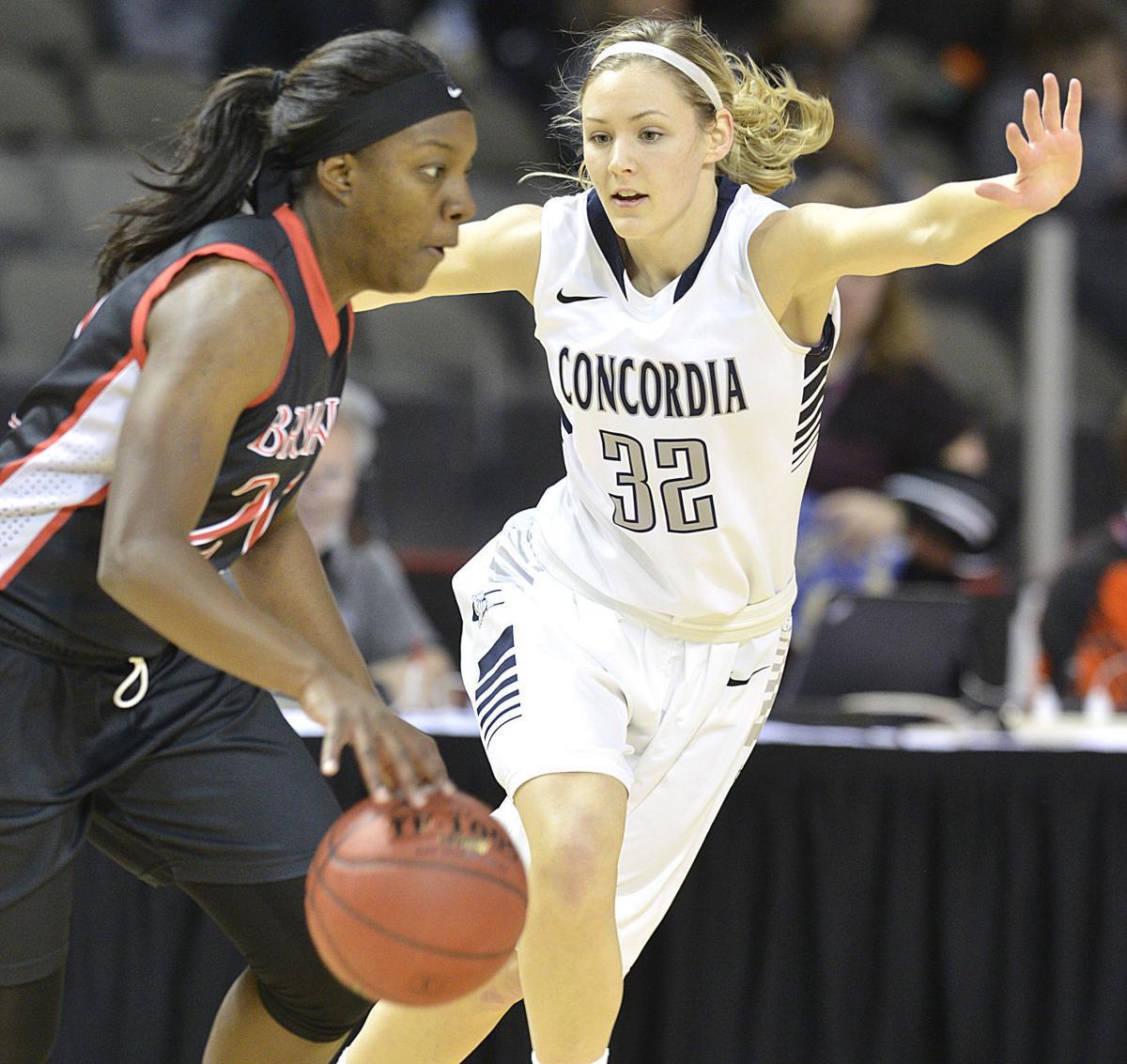Concordia vs Bryan NAIA basketball