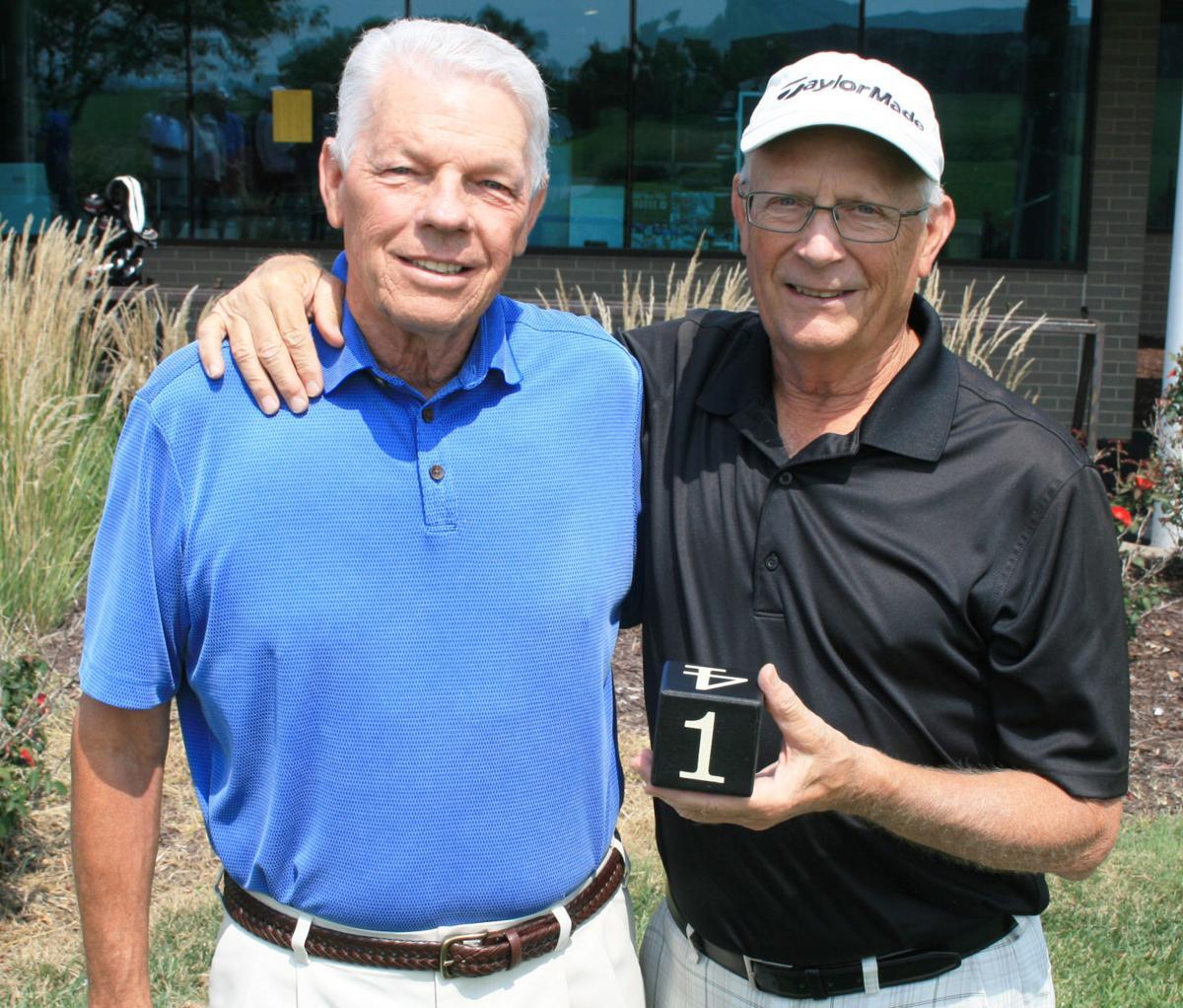 Highlands Div. 1 winners, Bob Brandt and Bob Danley