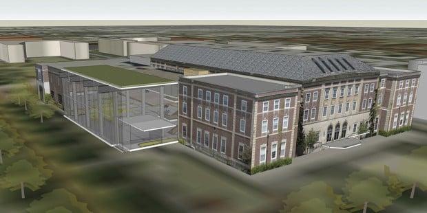 Nebraska Union rendering