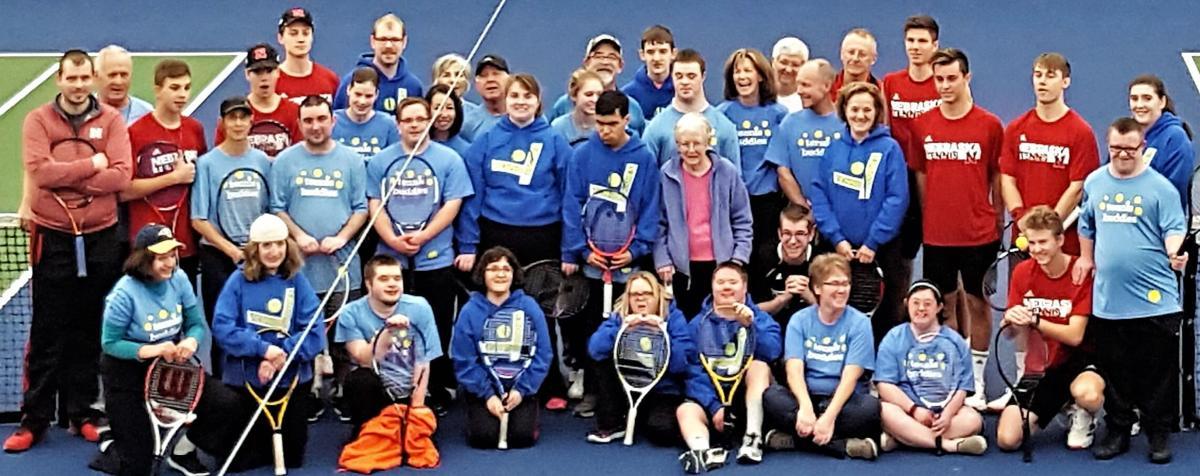 Lincoln Tennis Buddies members and volunteers