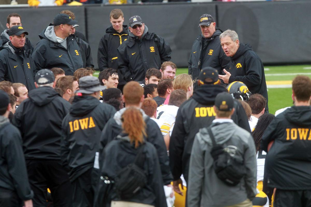 Iowa spring game
