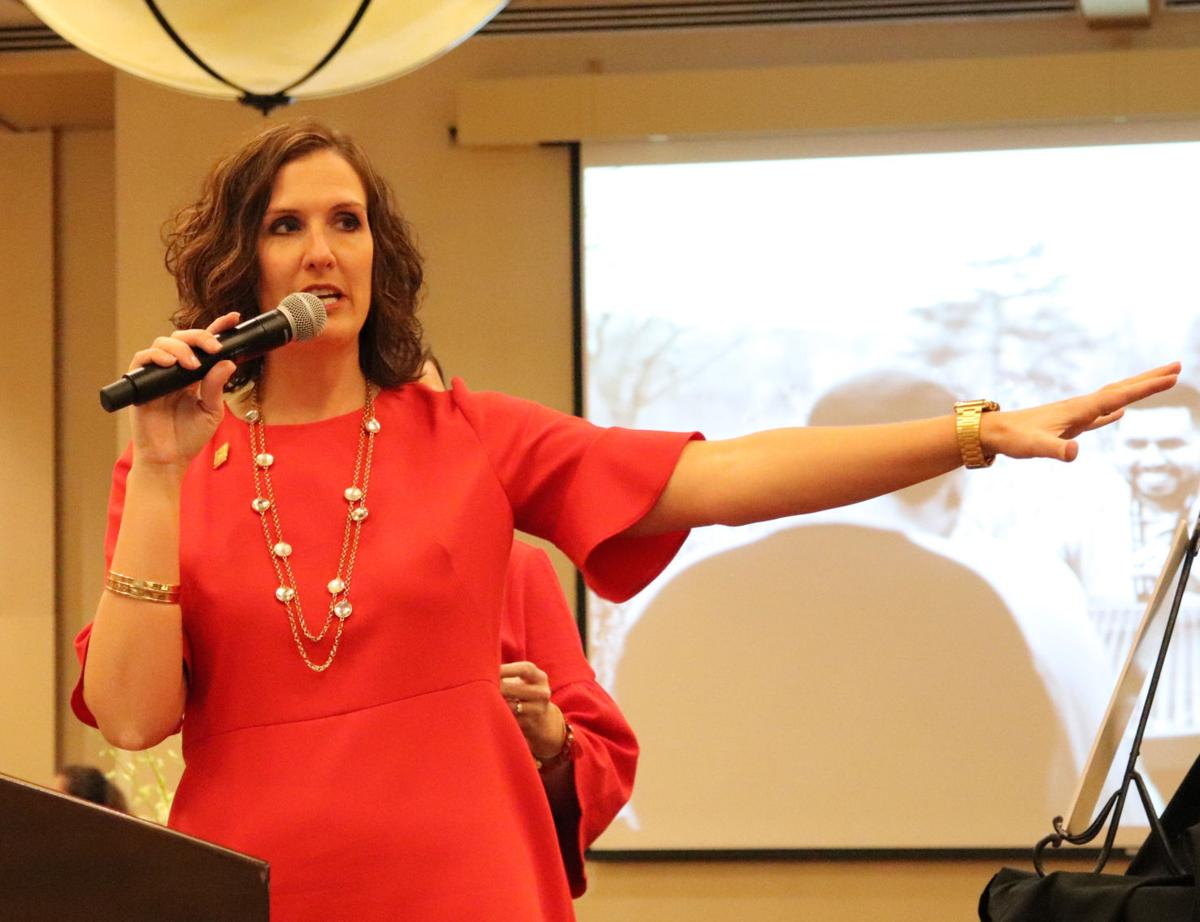 Power of the Purse co-chair Becky Perrett