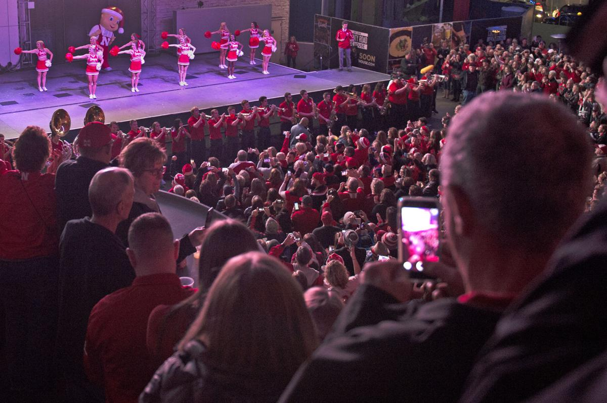 Nebraska Pep Rally, 12/16/17