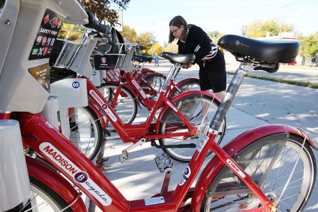 B-Cycle, Madison bike share