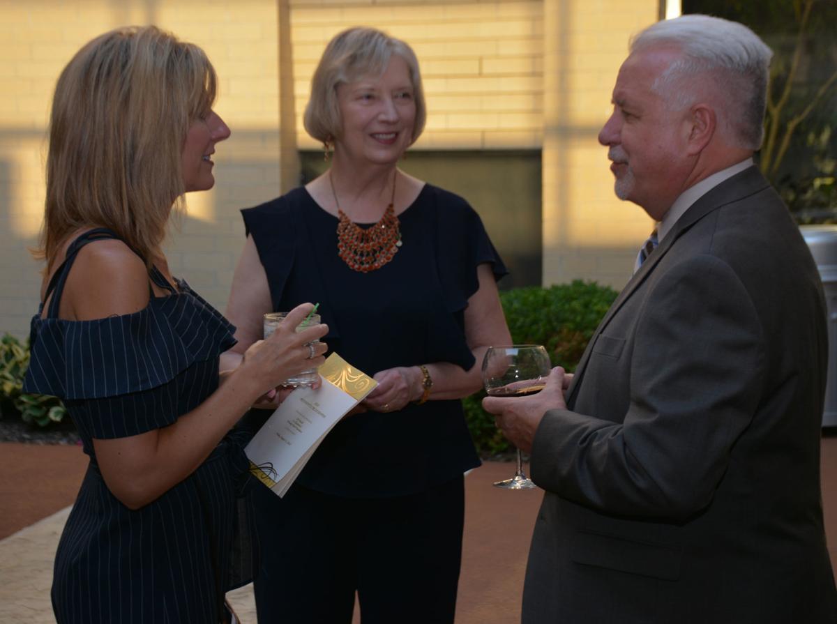 Tammie Funke, Donna Hammack and Doug Olson