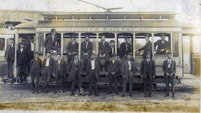Citizens Railway Company trolley ca