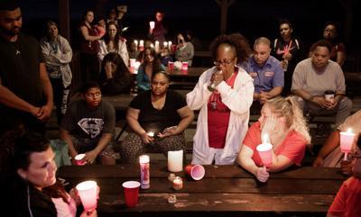 Candlelight Vigil for Shooting Victim, 9.11.18