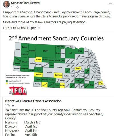 2nd Amendment Sanctuary Counties