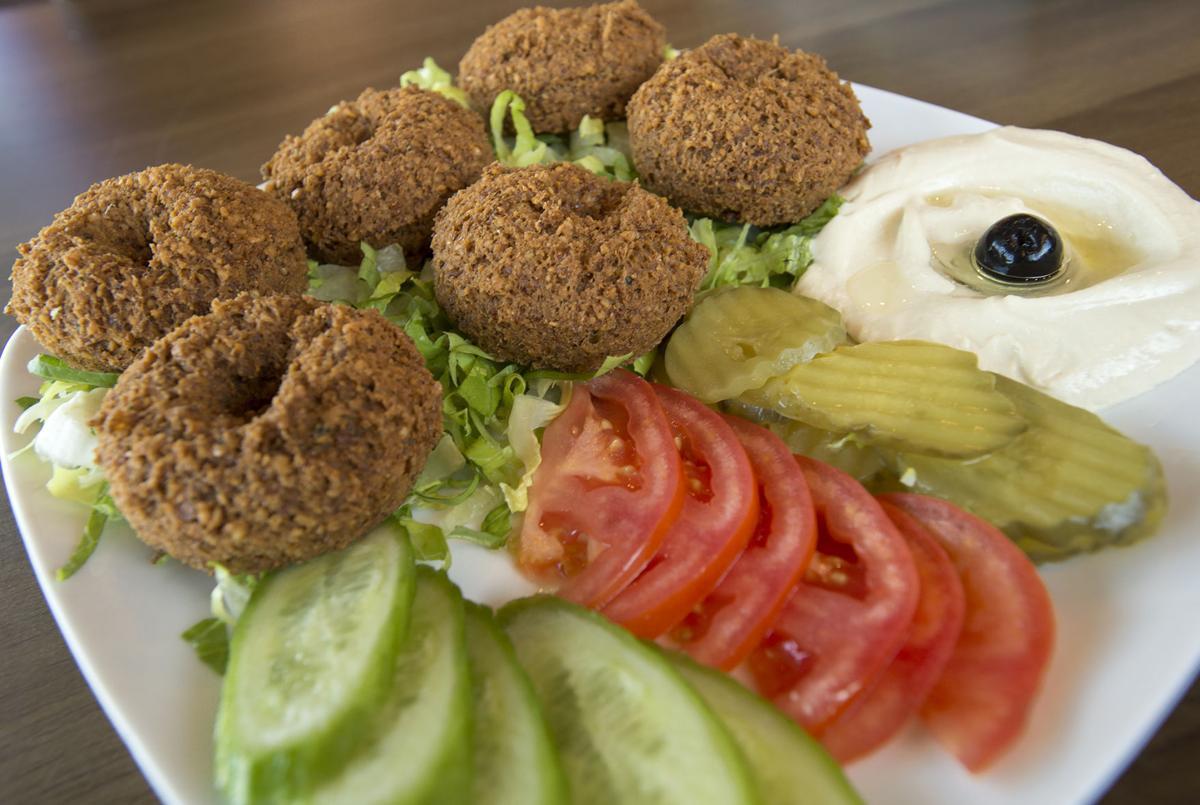 Dining out Habibi kabob and shwarma