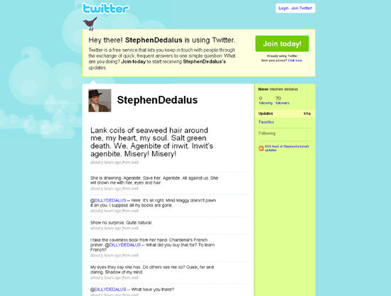 Classic 'Ulysses' meets modern Twitter | Lifestyles