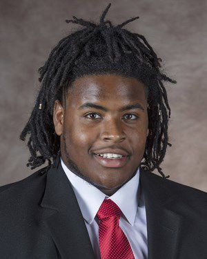 Damion Daniels, Nebraska defensive line