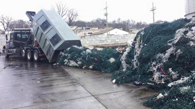 Truckloads of holiday lights
