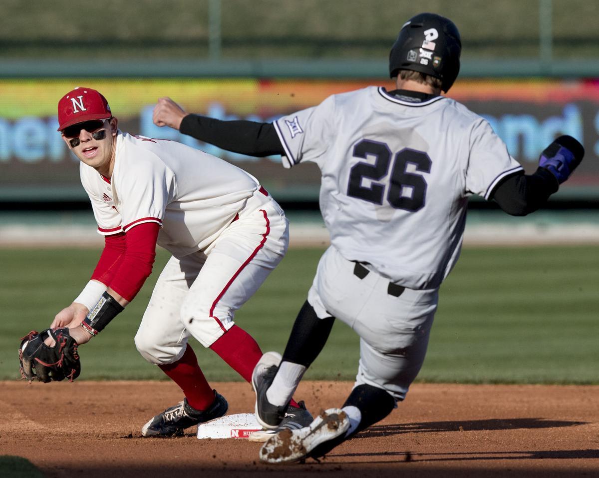 Kansas State vs. Nebraska baseball, 4/17