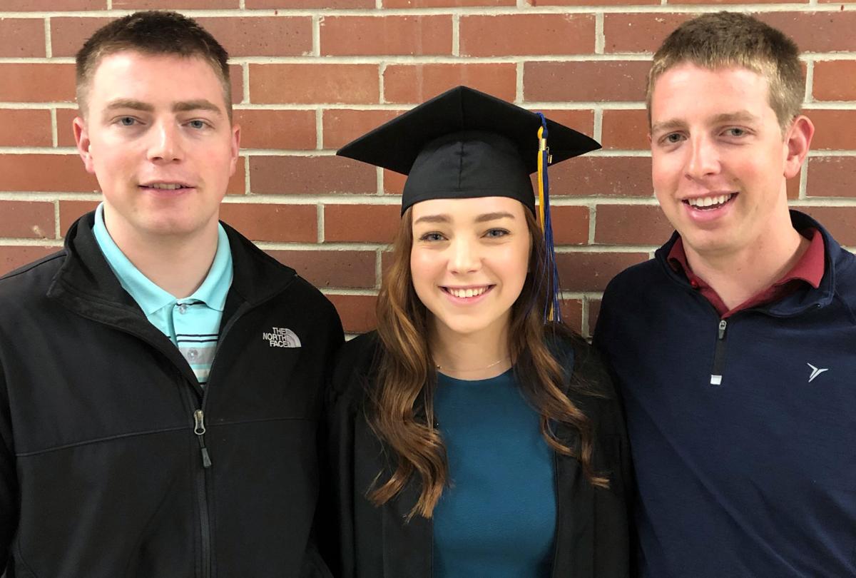 Tori's graduation