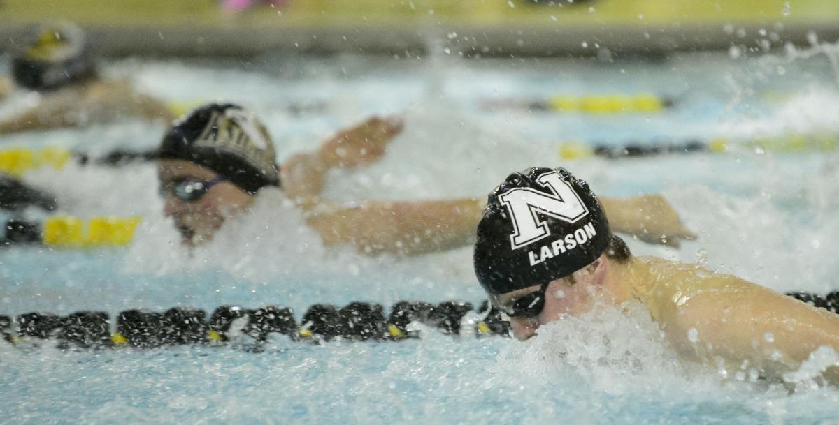 Swimming quad at Southeast, 1.26.17
