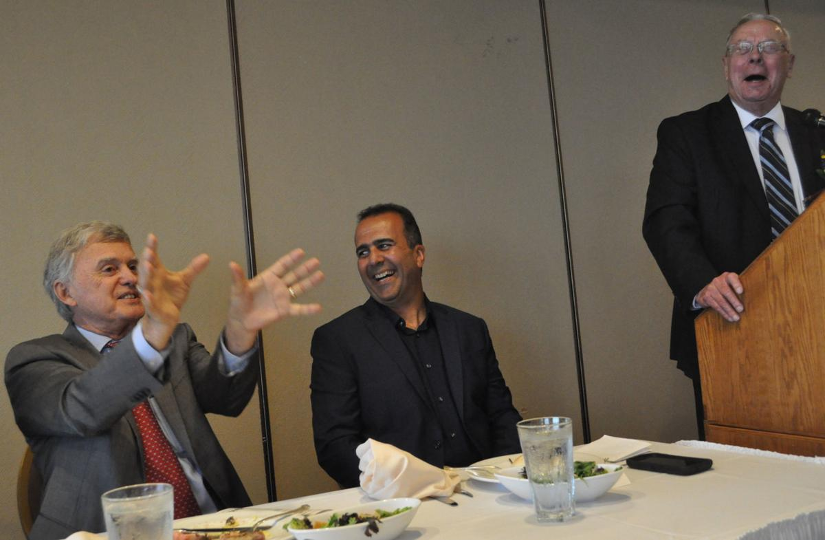 Mayor Beutler, Anwar Rida, Roland Temme