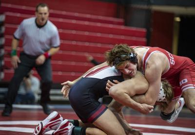 Nebraska vs Stanford wrestling 2.23