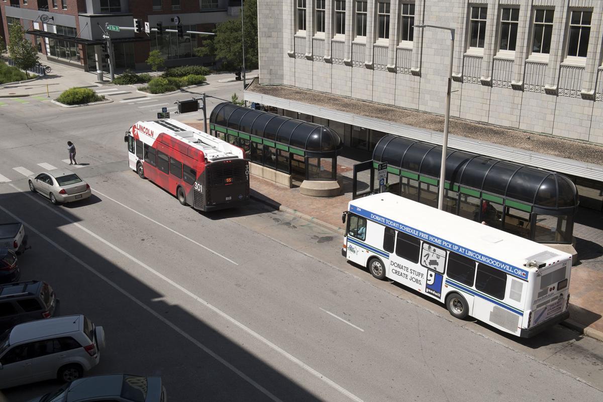 11 and N Street bus stop