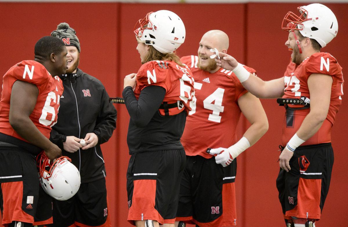 Nebraska Football Practice, 11.15.16
