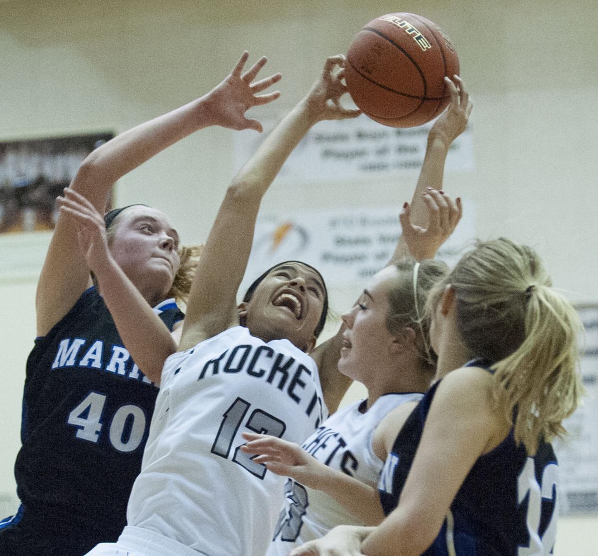 Photos: Omaha Marian vs. Northeast, girls hoops | Photo ...