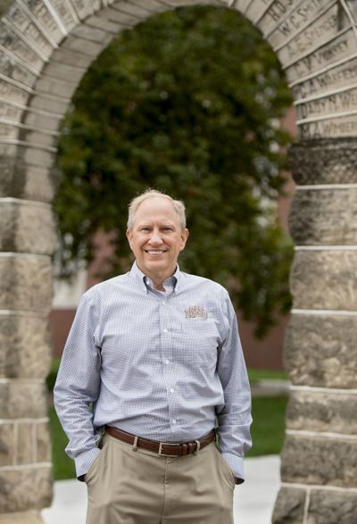Nebraska Wesleyan University President Darrin Good