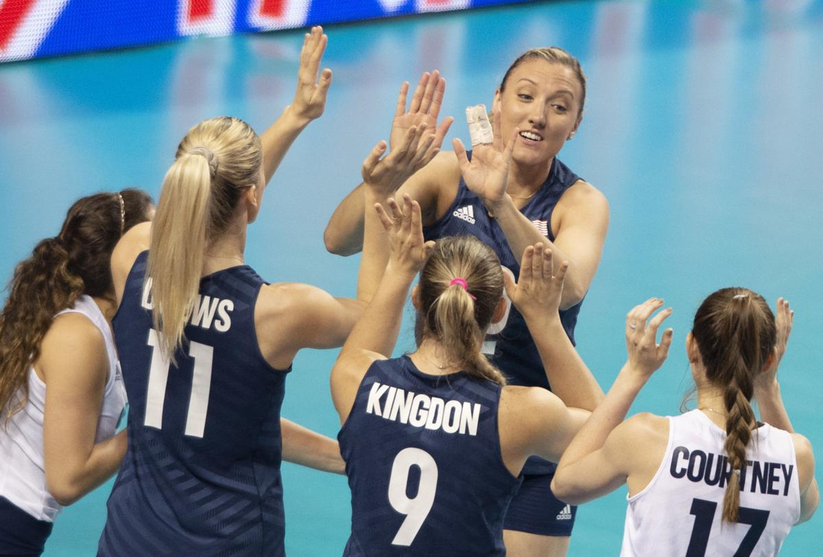 U.S. vs. Korea volleyball, 6.4