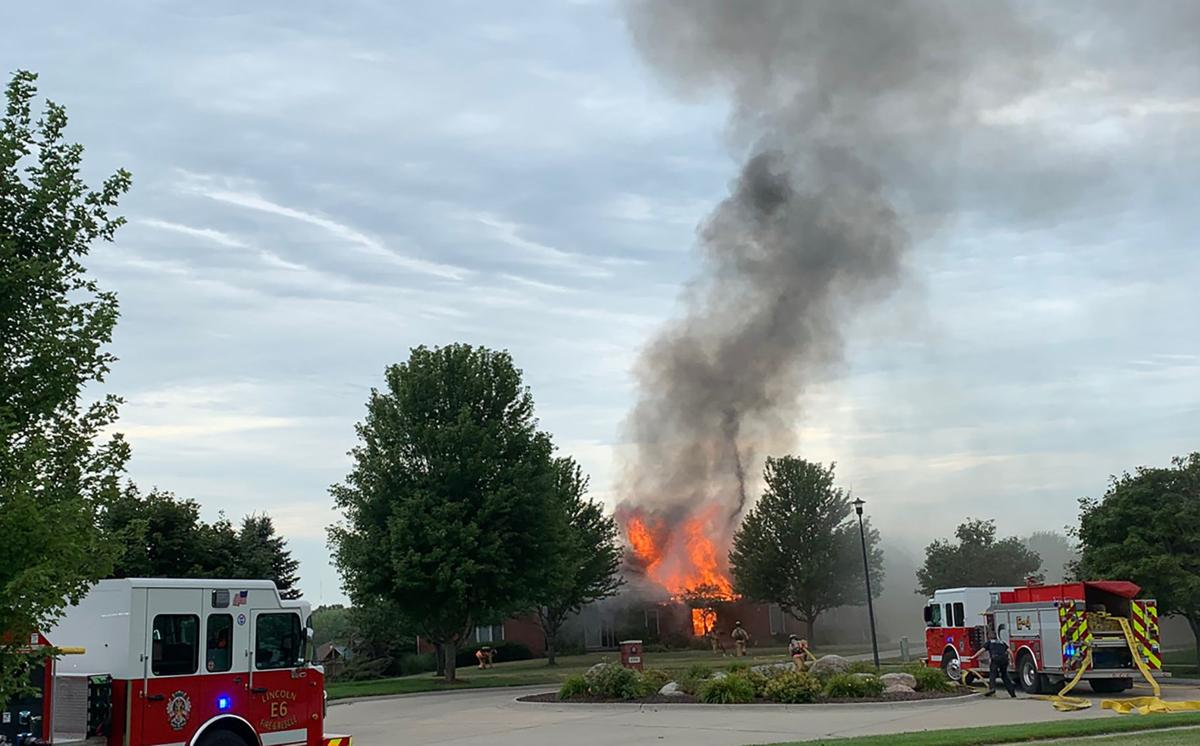 3-alarm southeast Lincoln blaze started in laundry room