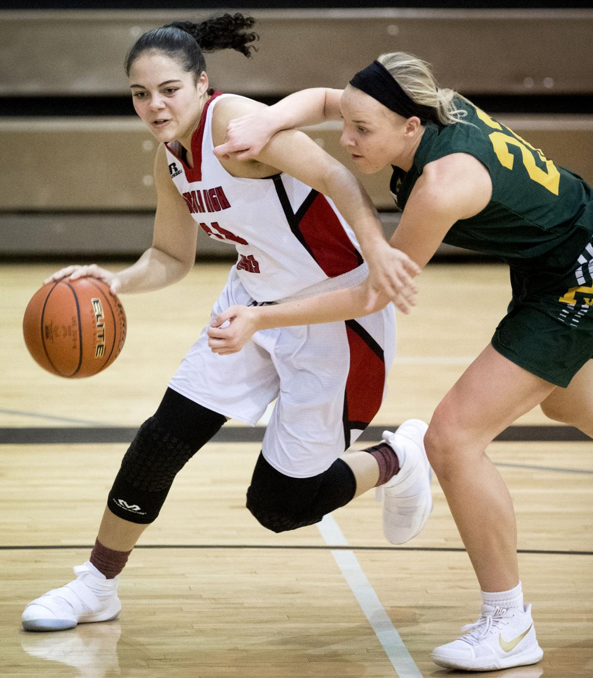 Pius X vs. Lincoln High, girls hoops, 1/12/18