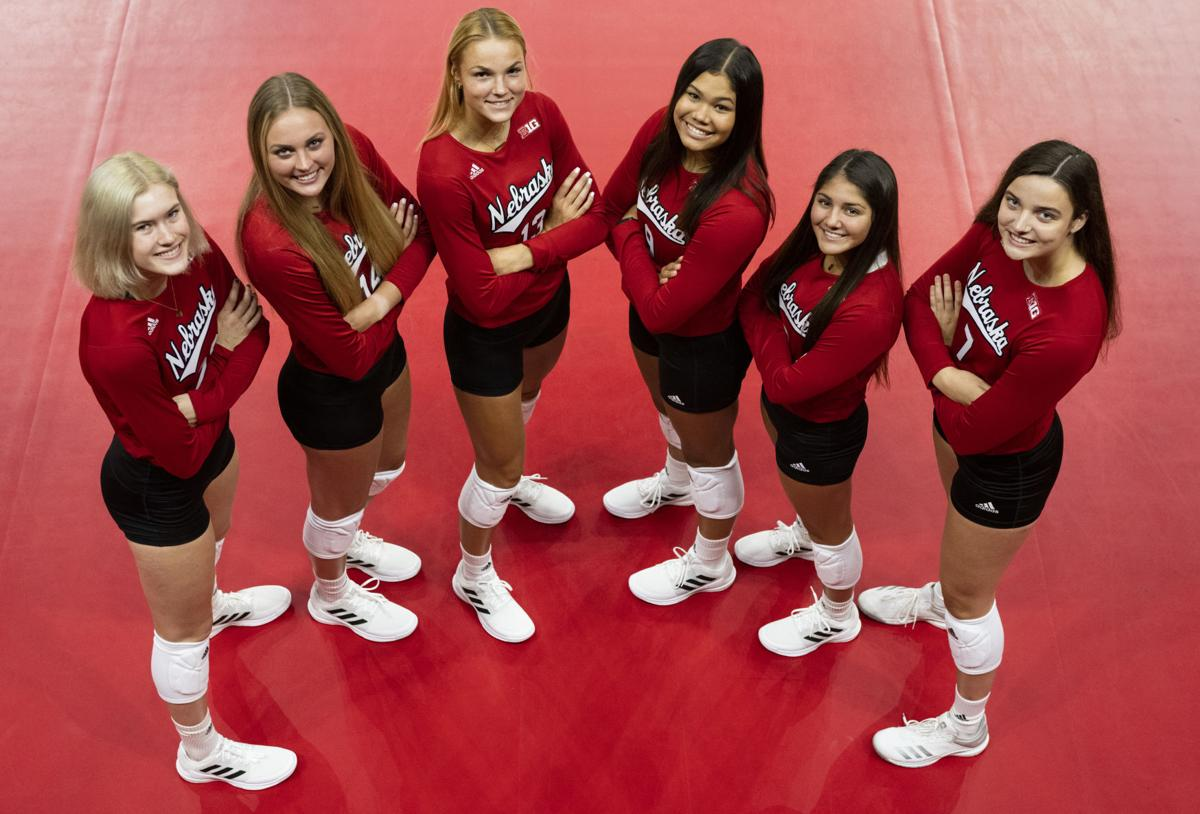 NU volleyball media day, 8.7