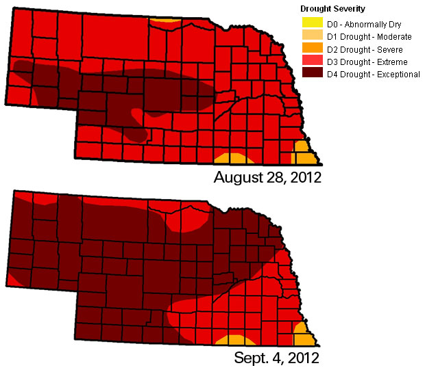 Drought Severity September 4
