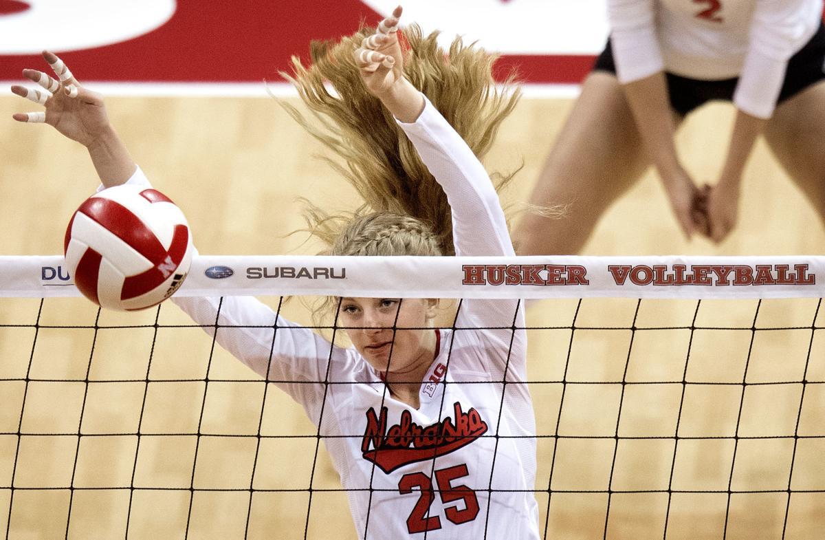 Recruiting tip for Nebraska volleyball's 'Schwarzenblock ...