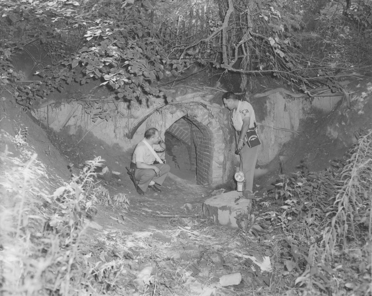Photofiles Historic Photos Of Robber S Cave Photofiles