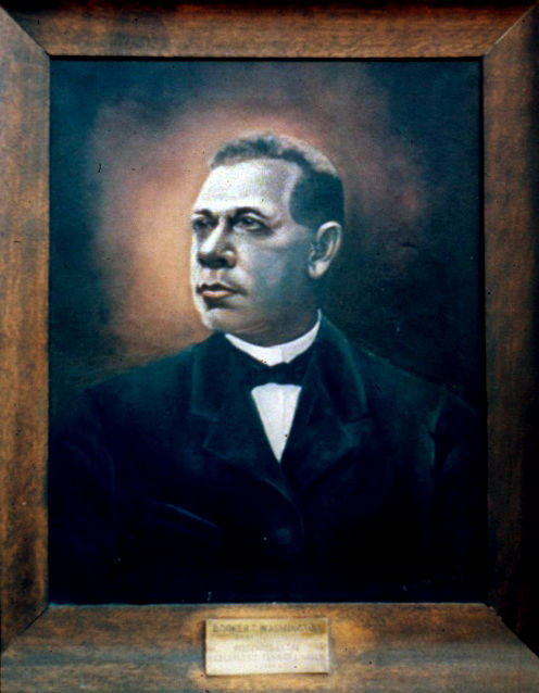 Painting of Booker T. Washington