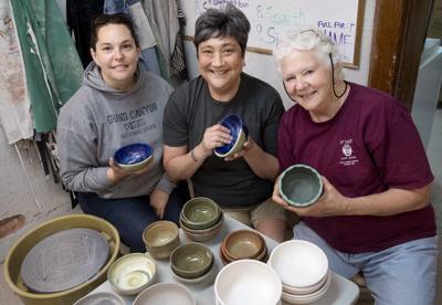 Food Bank Bowl Making
