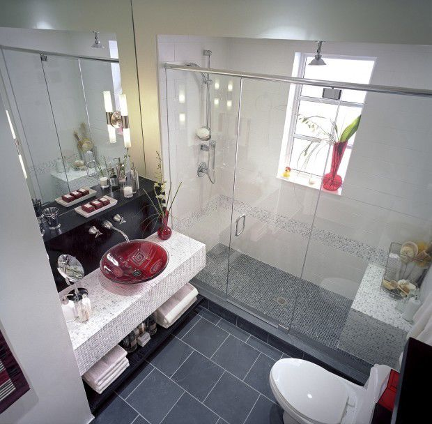 Divine Design: Washed-out Bathroom Gets Ready For Guests