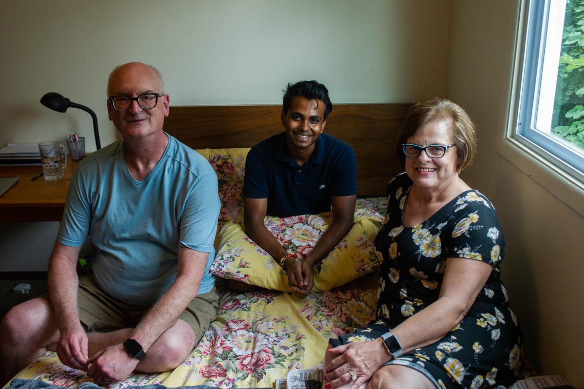 Aryan Singh new bed, 8.26.18