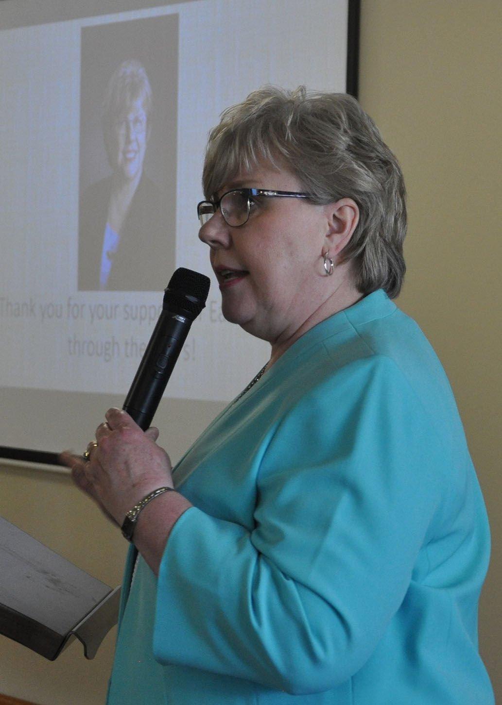Carol Ernst speaks