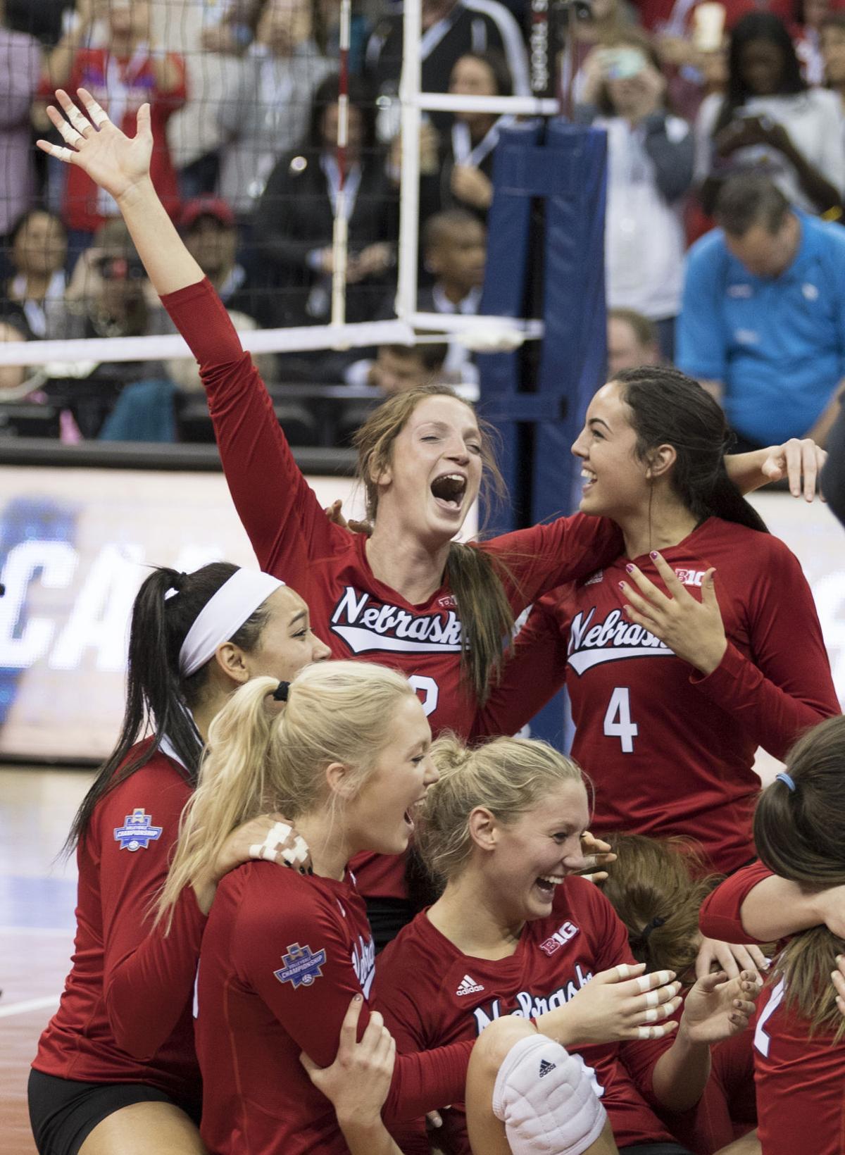 NCAA Volleyball Final, Nebraska vs. Florida, 12/16/17