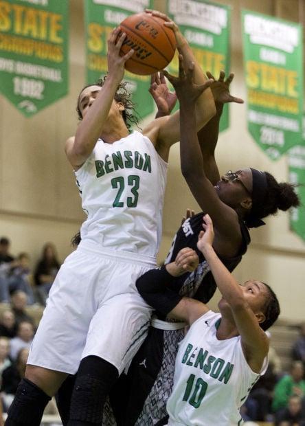 Omaha Benson vs. Lincoln Northeast girls basketball, 1.31.15