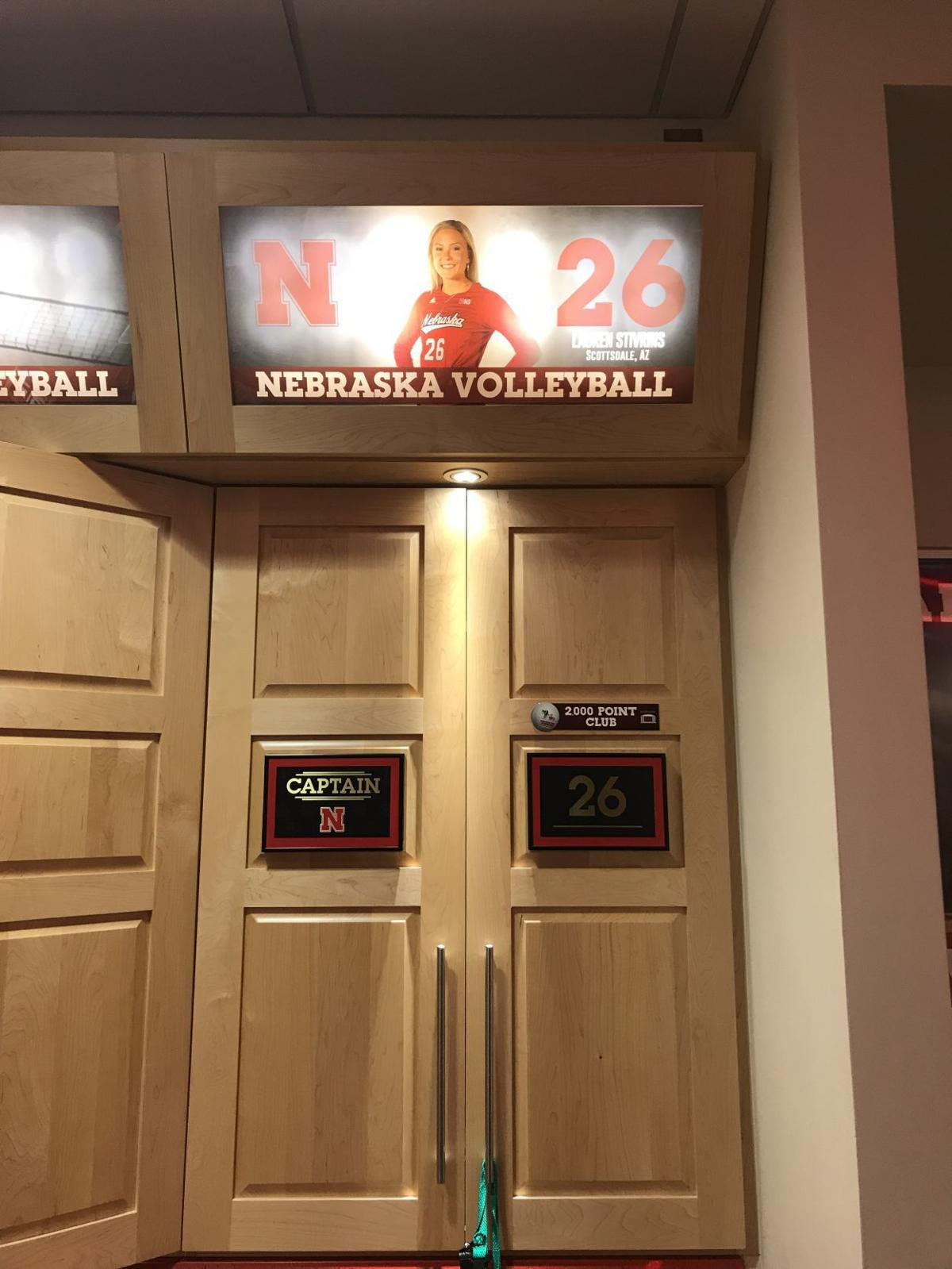 Lauren Stivrins locker room