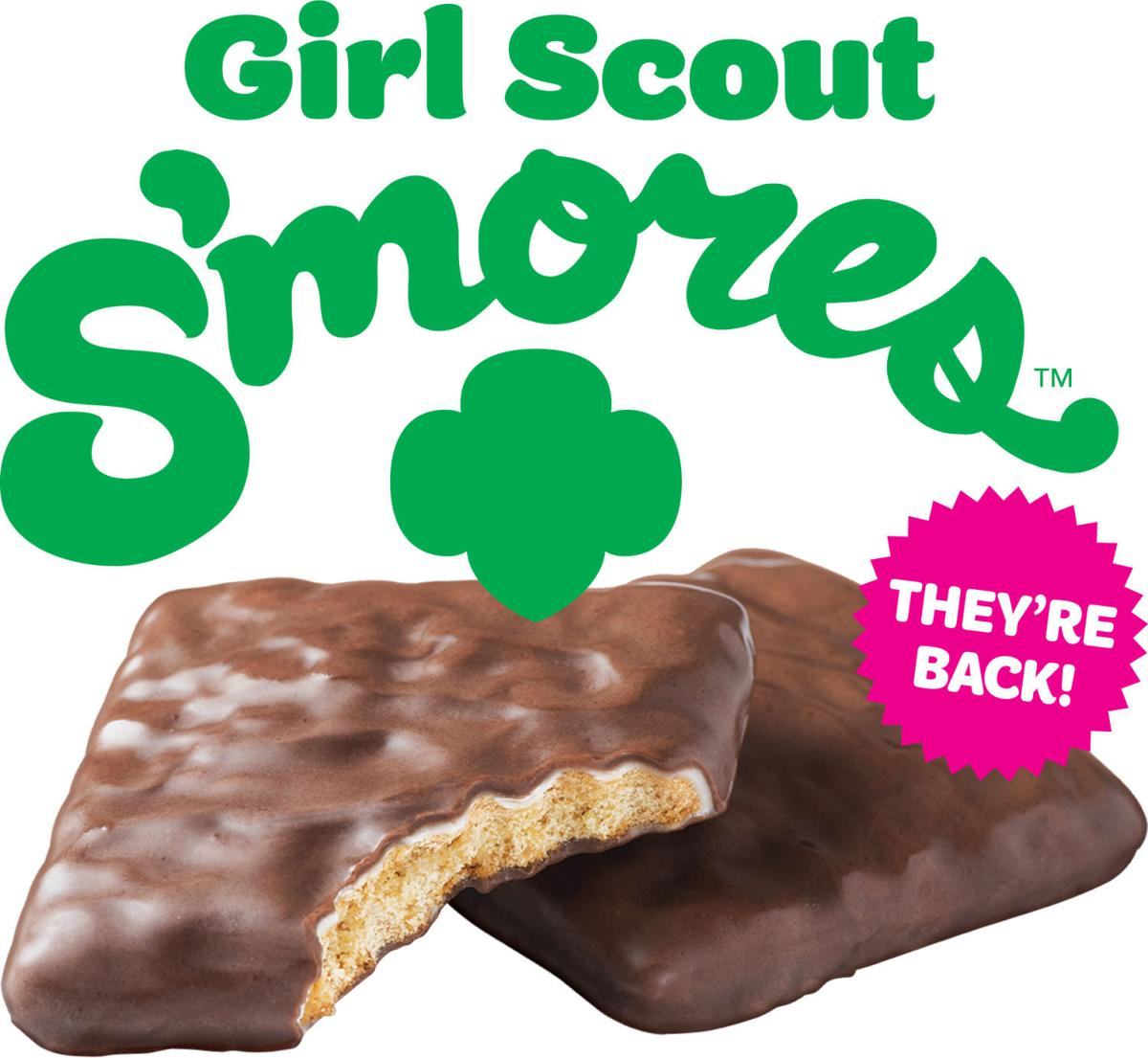 Girl Scout Smores Graphic